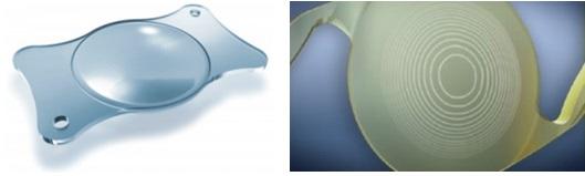 Lentes intraoculares trifocales difractivas AT LISA 839 y AcrySof IQ PanOptix